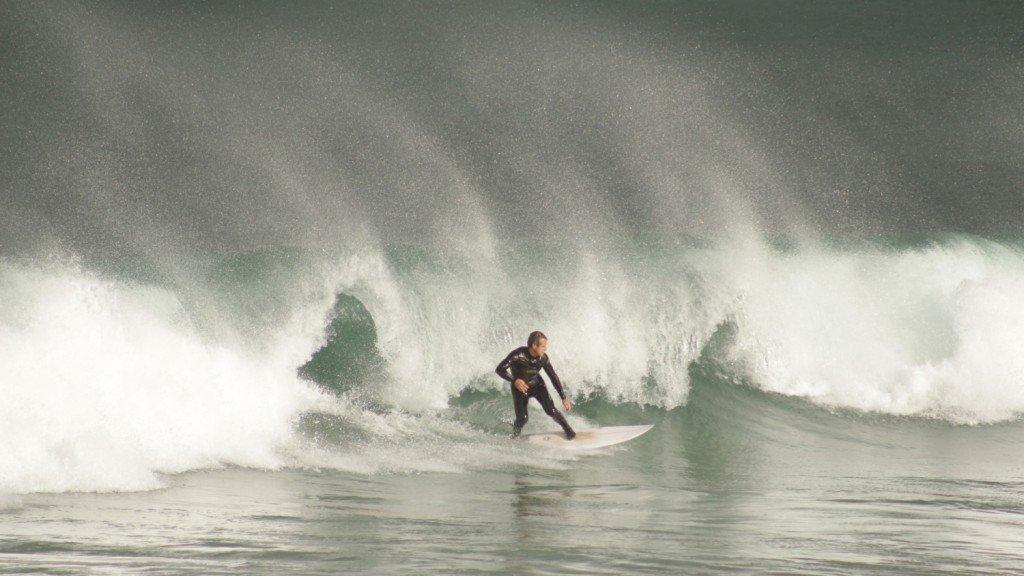 Surfing Sardinero